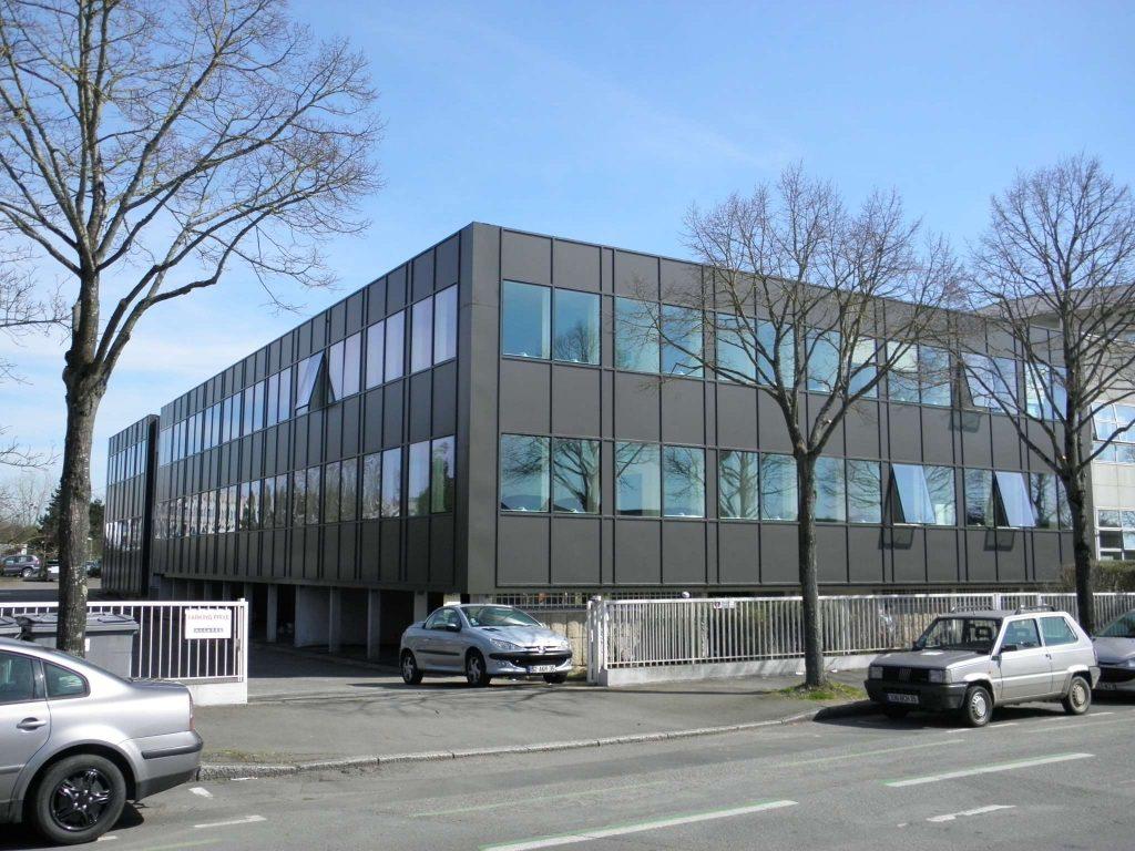 Cirtec ingénierie - Immeuble bureaux rue Bahuon Rault Rennes